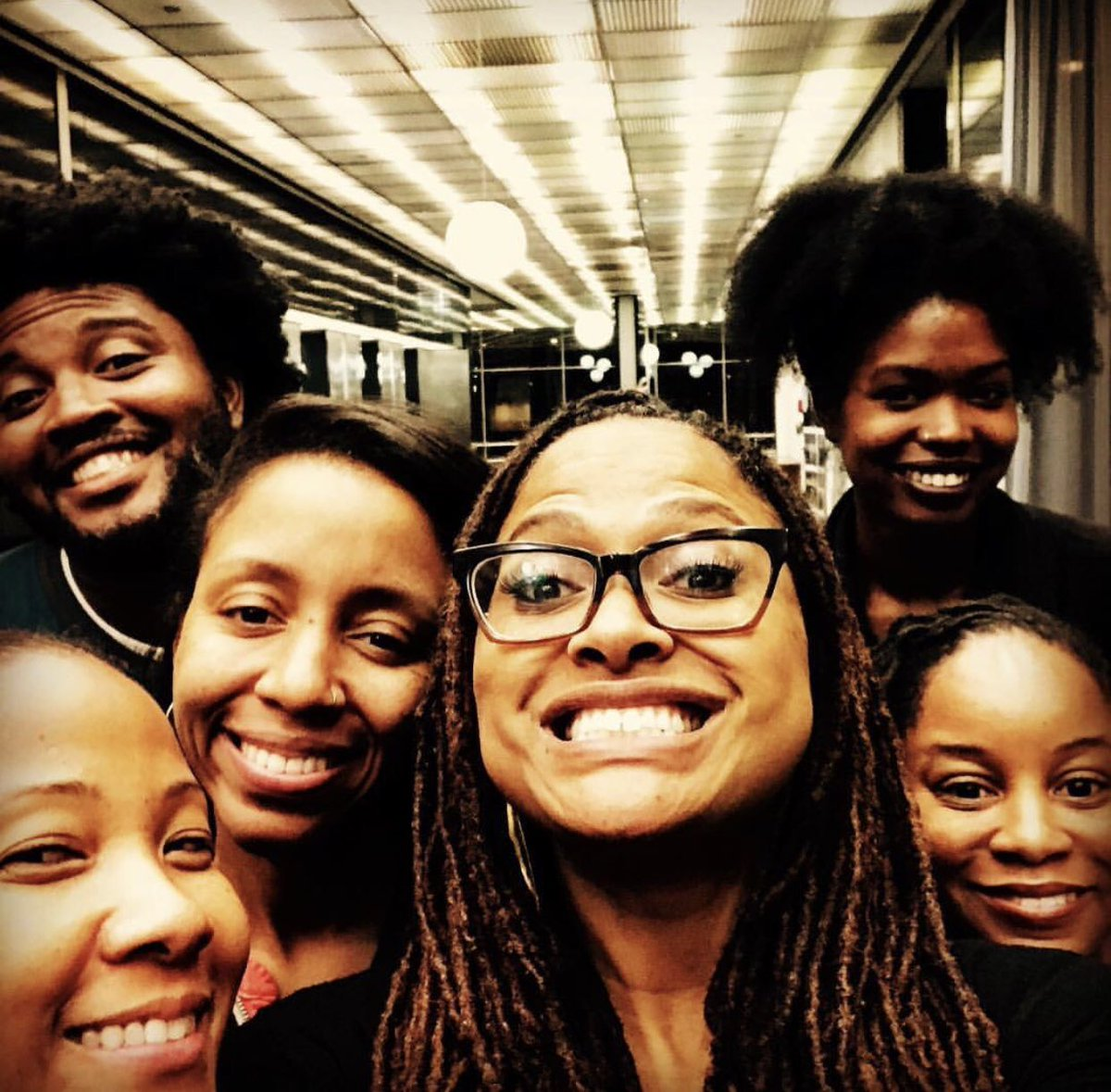 We love this @ARRAYNow selfie with founder Ava DuVernay! #DreamTeam #NationalSelfieDay