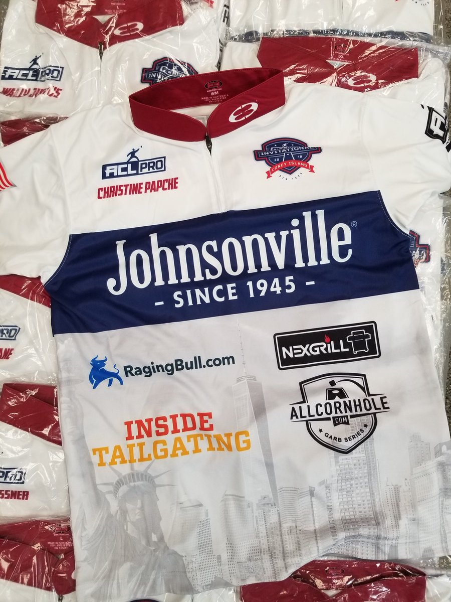 American cornhole league on twitter jerseys for the acl pro american cornhole league on twitter jerseys for the acl pro invitational are johnsonville stopboris Choice Image