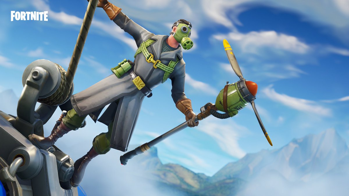 Barrel roll through the competition. The new Sky Stalker Outfit and Gear are available now!