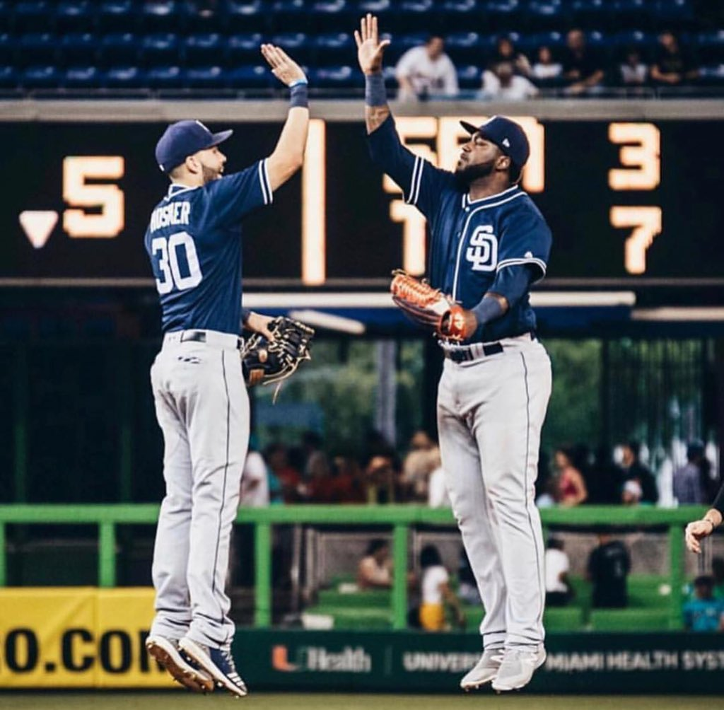 Big thanks to all the  @Padres fans who supported me during my time in San Diego.  I loved every second.  You guys are the best!  I will be back to stay very soon.  #lamole  #franimal  #muchoswag