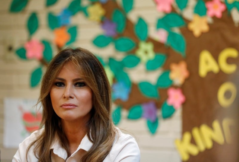 Melania Trump Stages Shelter Photo-Op While Canceling Real Detention Center Visit https://t.co/LzVriDxFwt https://t.co/EDF8yY0FlS