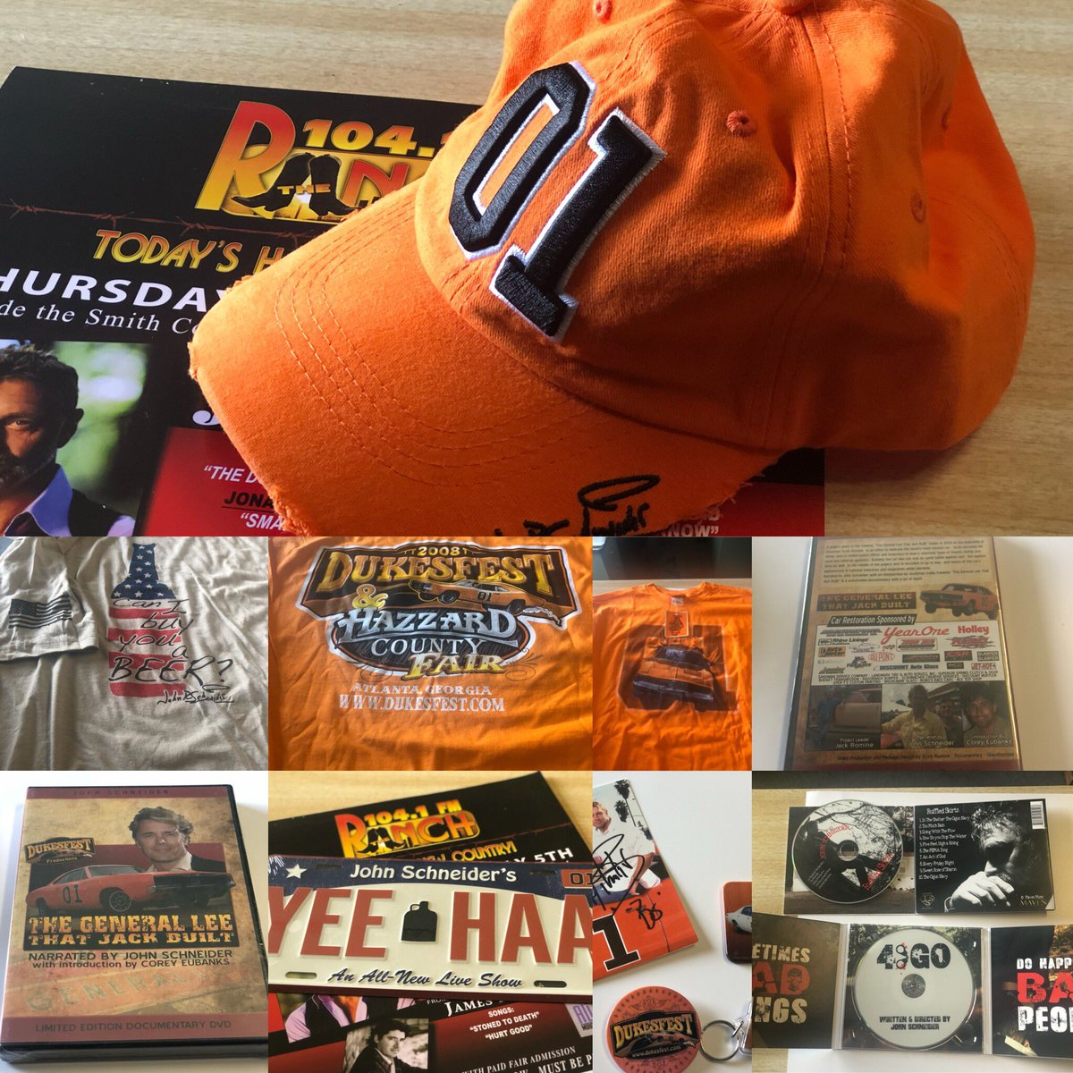 One person -our smith County Bank -John Schneider VIP winner picks up ALL of these!!! Plus special up close seats!! Registration boxes will be picked up next Wednesday (some locations sooner), so hurry!! <br>http://pic.twitter.com/IYNStMsgSs