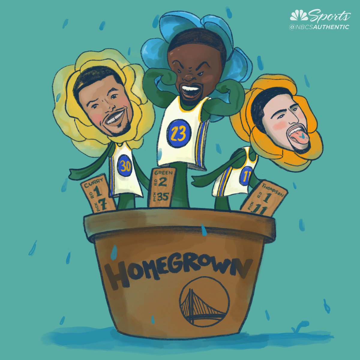 The foundation of the Dubs was planted on draft night. Whos next?