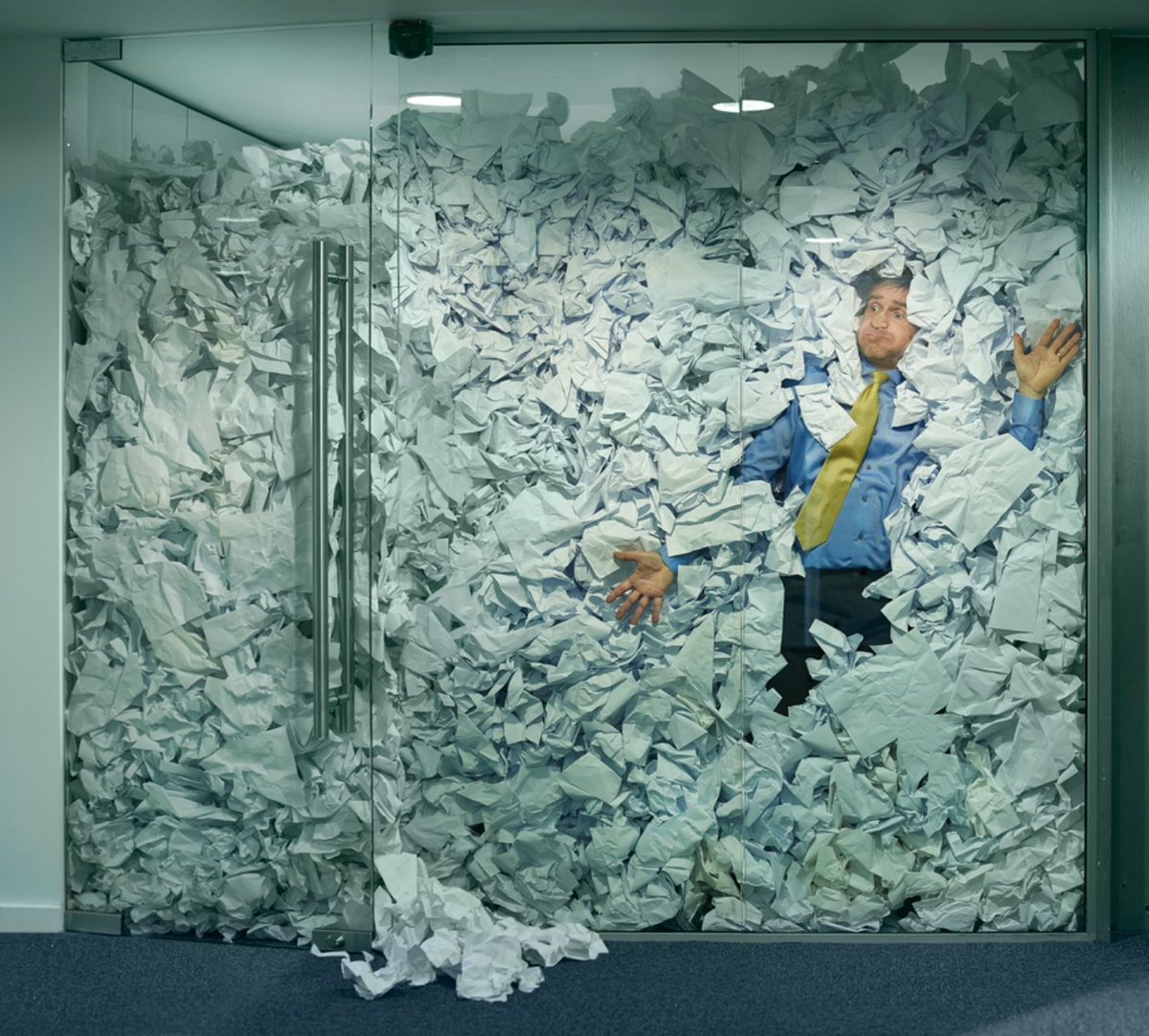 Image result for mountain of paperwork
