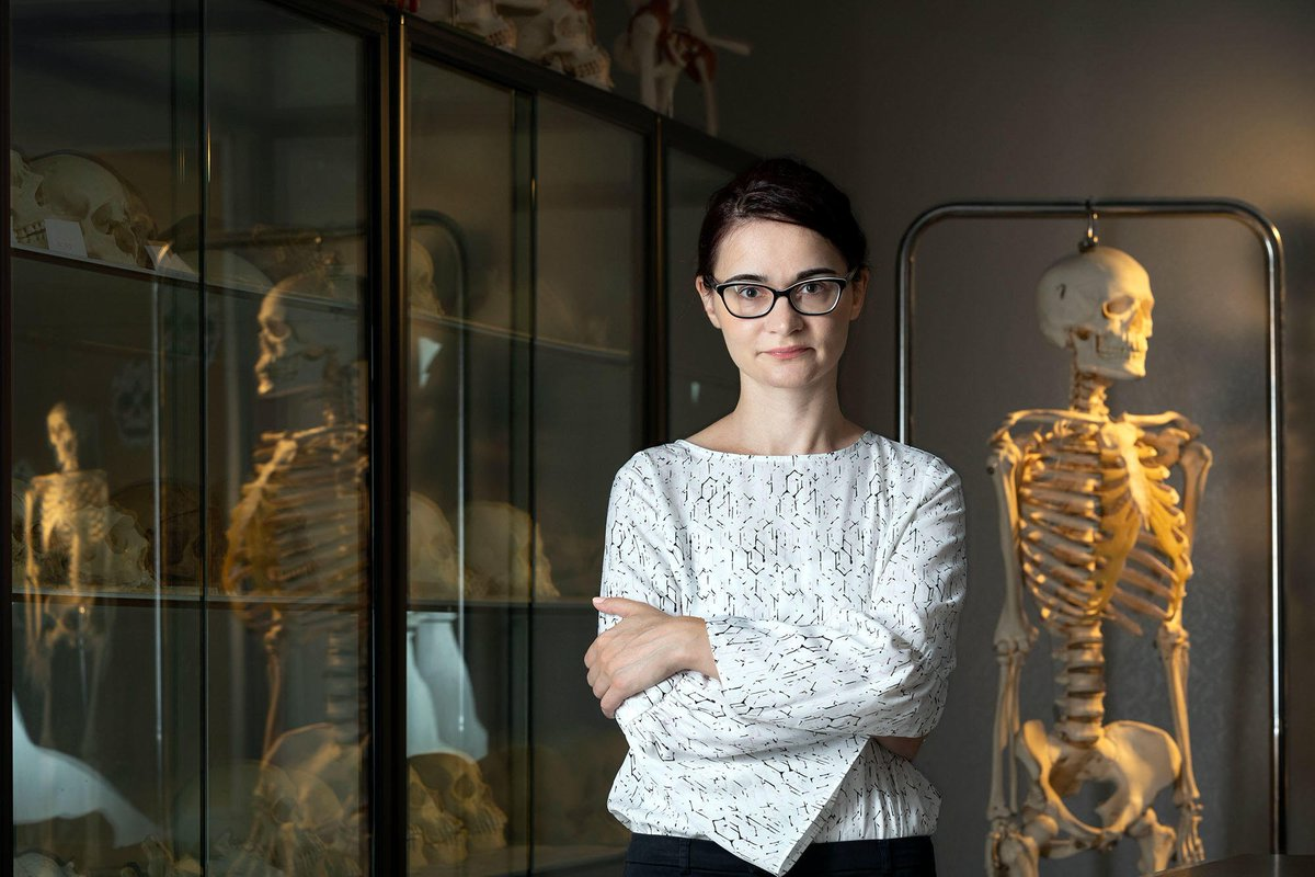 Cristina Tica is an expert at reading the burials of long ago people for information on identity, health and trauma. Her #Fulbright project in Hungary will help scholars understand the effects of migration on individuals & communities. bit.ly/2M3Vzkm