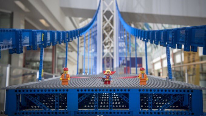 World record-breaking 200,000 brick #LEGO bridge to be unveiled in #Glasgow for International Women in Engineering Day  http:// bit.ly/2KaLmBK  &nbsp;   #INWED18 #STEM <br>http://pic.twitter.com/4AGxTk5RXQ