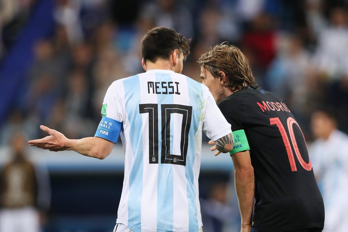 Video: Argentina vs Croatia