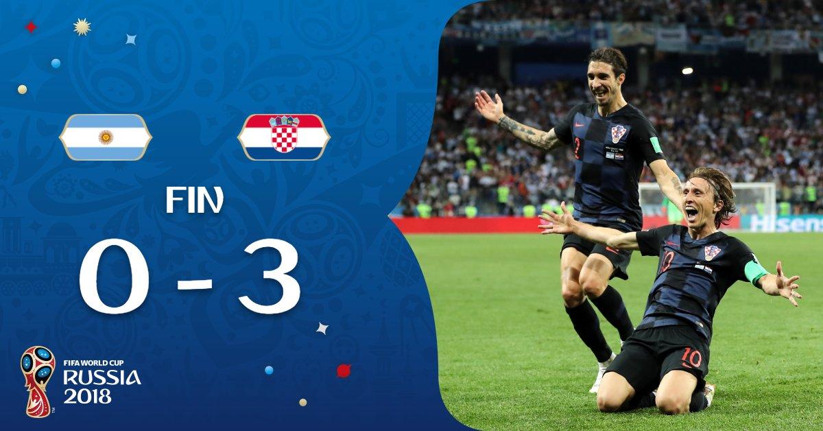 Argentine-Croatie
