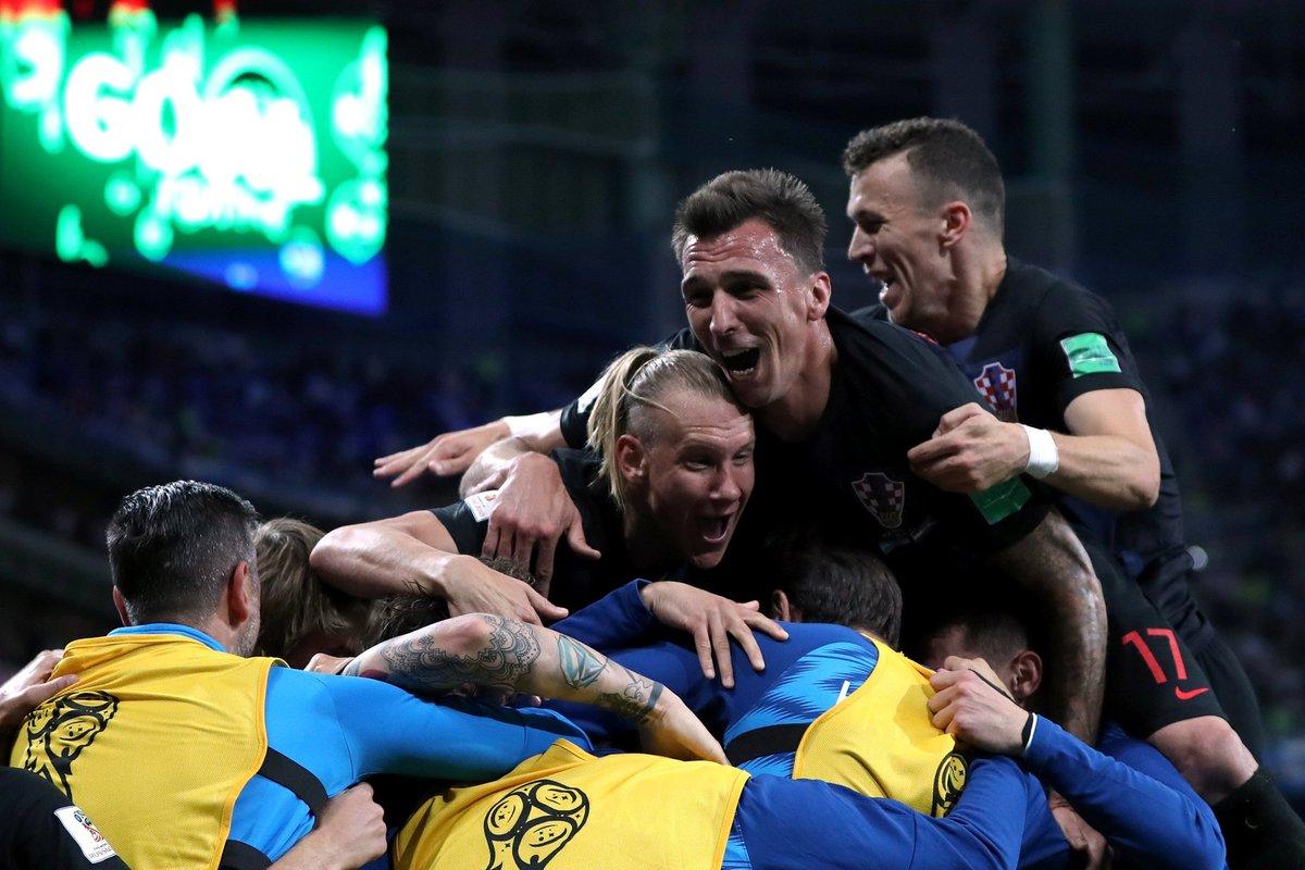 كرواتيا تسحق الأرجنتين بثلاثية نظيفة