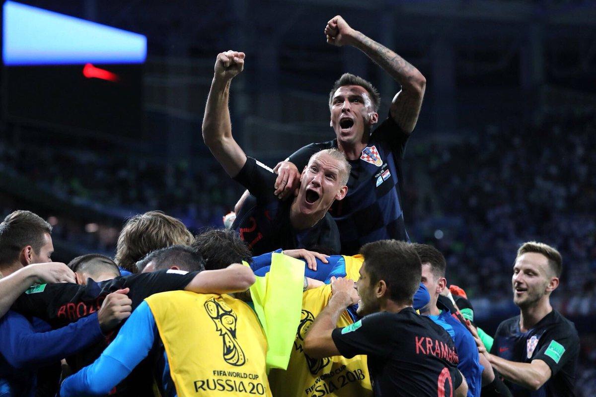 Tebrikler Domagoj Vida 👏👏👏Congratulations 👊💪 #WorldCup  🏆 #CRO