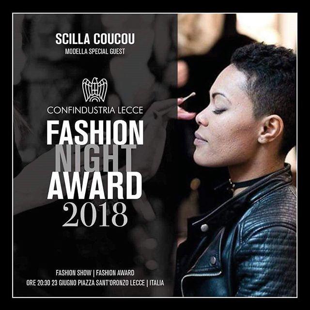 A calcare la passerella di @Confindustria Lecce Fashion Night Award 2018 #specialguest la modella brasiliana Scilla Coucou #weareinpuglia #confindustrialeccefashion2018 #23giugno #moda #domani #wearelookingforward #unica #coraggio #forza#nolimits https://ift.tt/2K54sNd  - Ukustom