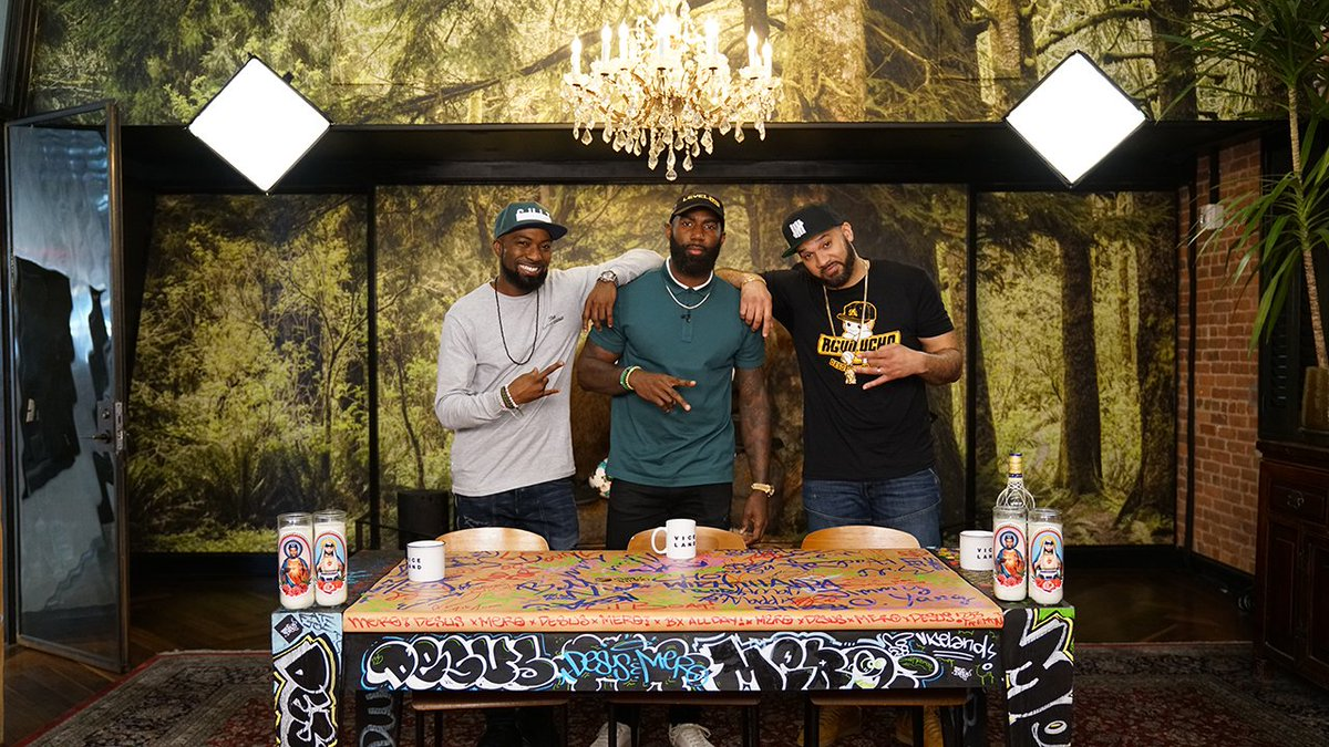Tonight on DESUS & MERO, NFL star, 2x Super Bowl champ, and activist, @MalcolmJenkins. 11pm.