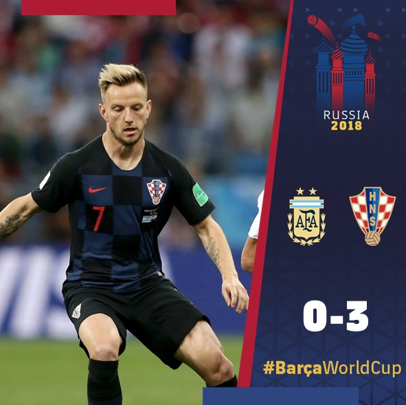 �� @ivanrakitic ���� �� Leo #Messi ���� ���� #BarçaWorldCup https://t.co/CSNKYM4AZ0