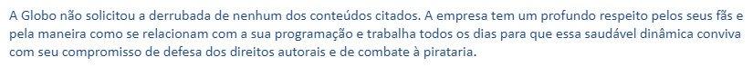 URGENTE! A @RedeGlobo não mandou derrubar nenhuma conta do Twitter.   Foi um impostor!