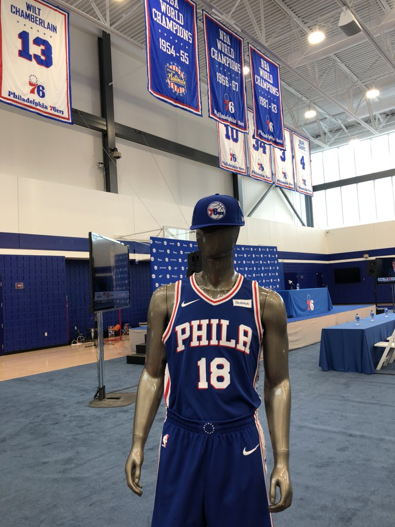 Also excited for another Draft Live stream. At 6:30 pm, me, @Coach_Donahue, @Pilla_Talk, @McGinnisThomas and boffo production team led by @ATalasnik, @ninaraspa, and @RyanKoletty on FB, YouTube, Twitter, Sixers site. Live guests, Brett Brown interview, pressers all night long.