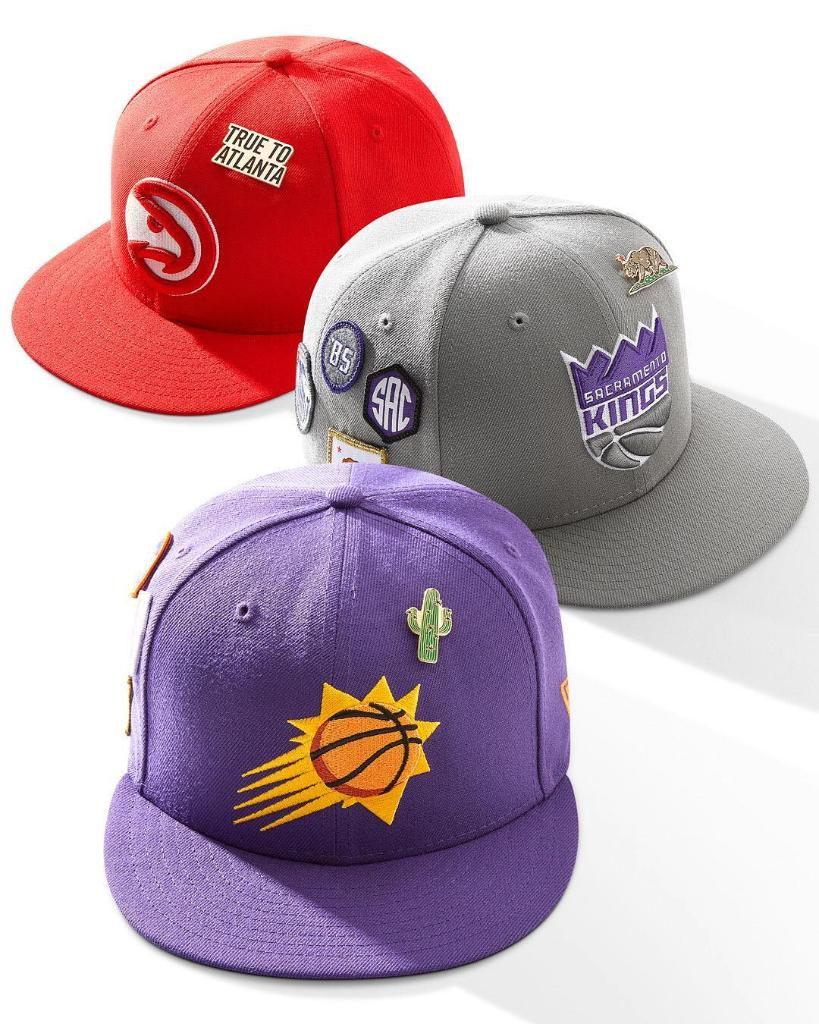 bd82ec7af0b  NewEraCap s official NBA Draft hats are arriving in-store at select  Footaction locations complete with unique patches inspired by all 30 NBA  cities.