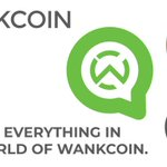Image for the Tweet beginning: Contribute, Learn and Share WANKCOIN