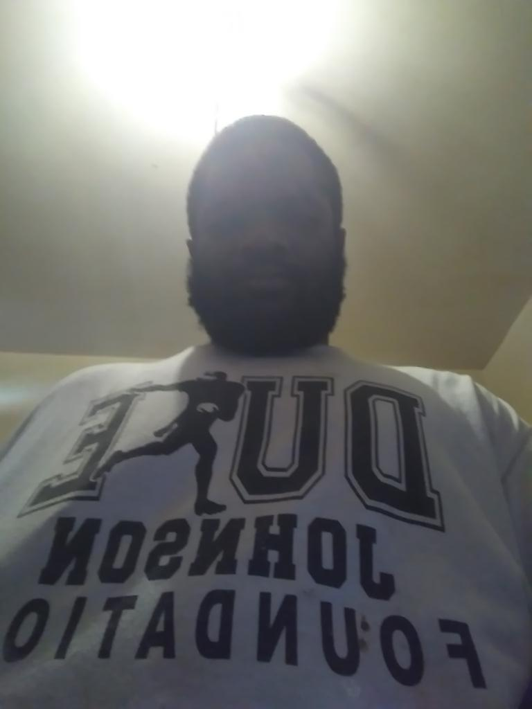 I had 2 represent hometeam @DukeJohnson_8. I trade 4 u on madden n u ball all the time. If it wasn&#39;t for my Grandson funeral my football team would&#39;ve attended your camp Saturday. Yall support big homie 7on7 . Peace no violence<br>http://pic.twitter.com/wGL9Xzmx8a