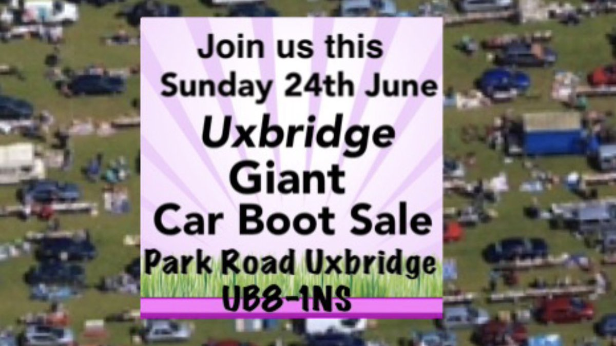 Calvers Car Boot Sales On Twitter Join Us This Coming Sunday 24th