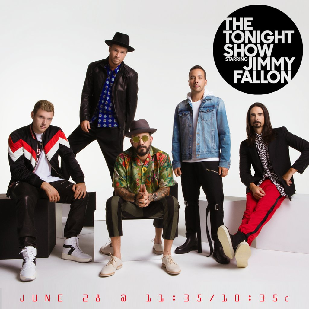 That's right, we're going to be performing #DontGoBreakingMyHeart on @jimmyfallon next week! Tune into @FallonTonight on @nbc Thursday, June 28 at 11:35/10:35c.