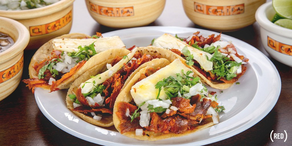 Something to taco'bout! For each order of Tacos al Pastor, @ElCalifaMx will donate to @RED's fight to #86AIDS
