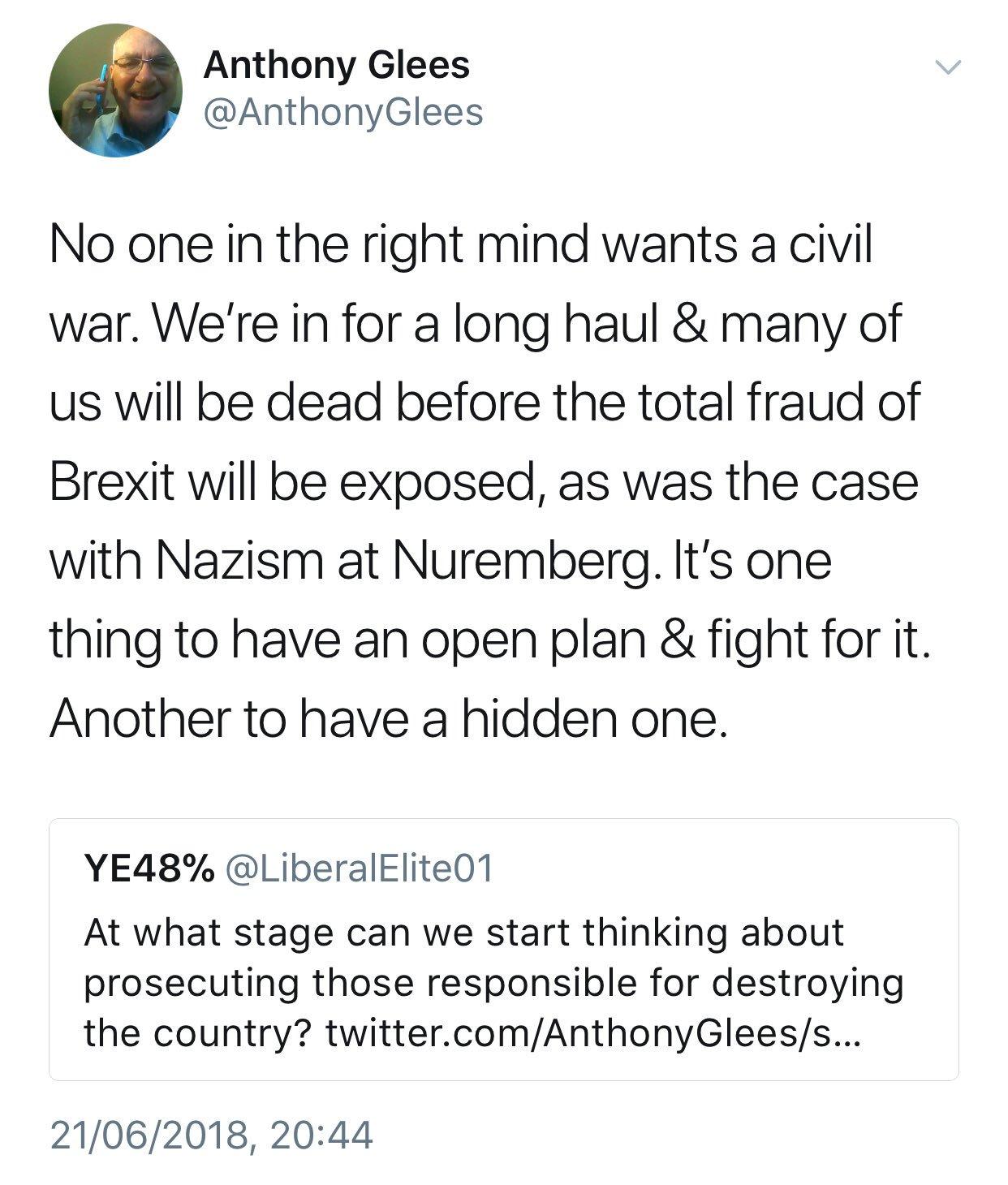 Professor @AnthonyGlees has gone full Grayling. https://t.co/SwaLmPdjXF