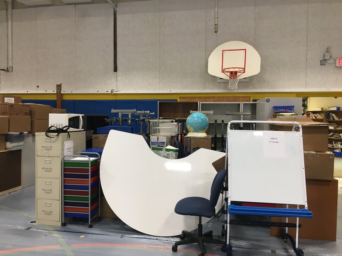 Transitions! Classrooms in the gym! It must be summer and moving around time at APS. <a target='_blank' href='http://search.twitter.com/search?q=APSisawesome'><a target='_blank' href='https://twitter.com/hashtag/APSisawesome?src=hash'>#APSisawesome</a></a>  ⁦<a target='_blank' href='http://twitter.com/APSVirginia'>@APSVirginia</a>⁩ ⁦<a target='_blank' href='http://twitter.com/teachnpe'>@teachnpe</a>⁩ ⁦<a target='_blank' href='http://twitter.com/ddcoggins'>@ddcoggins</a>⁩ <a target='_blank' href='https://t.co/4vL6ubvuJq'>https://t.co/4vL6ubvuJq</a>