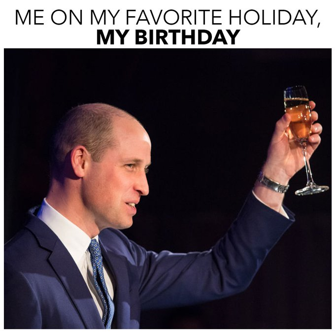 Today, we celebrate one of our favorite royals.   Happy birthday, Prince William!  Cheers to another great year.