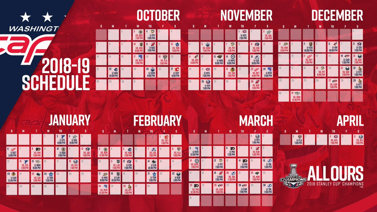 The #CapsSchedule is here! Read More: Washca.ps/18-19-Schedule Sync to your Devices: Washca.ps/Sync-Schedule #ALLCAPS