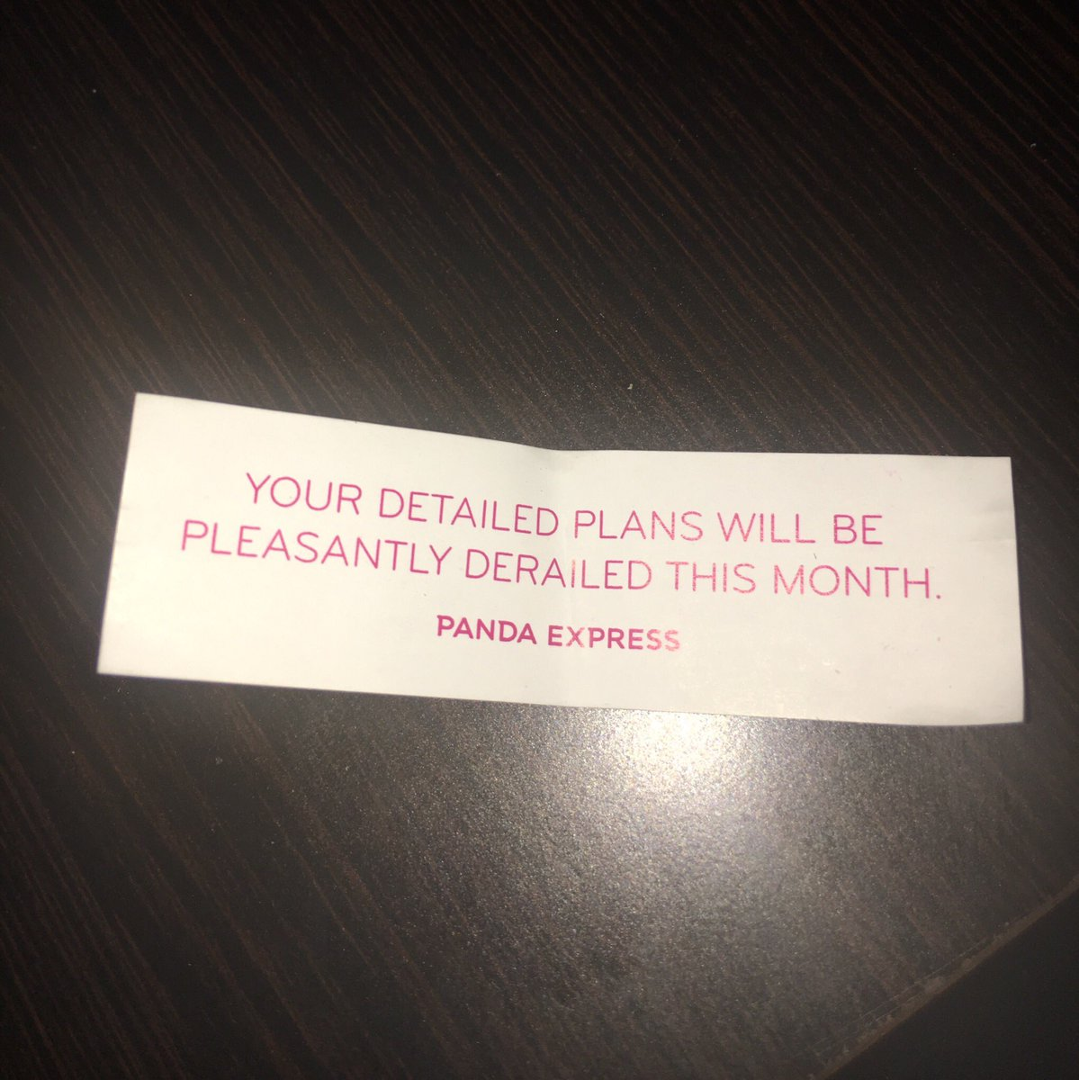 My fortune a few days ago knew how I would react to Part 5 being announced <br>http://pic.twitter.com/MsDgUVKtlC