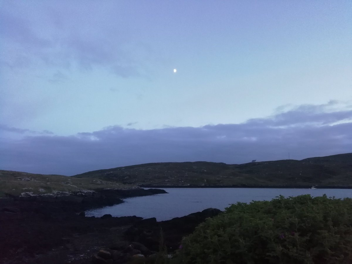 Midsummer night at 11pm in the Hebrides. A little over 5 hours to sunrise. The nights only get shorter from now on in.