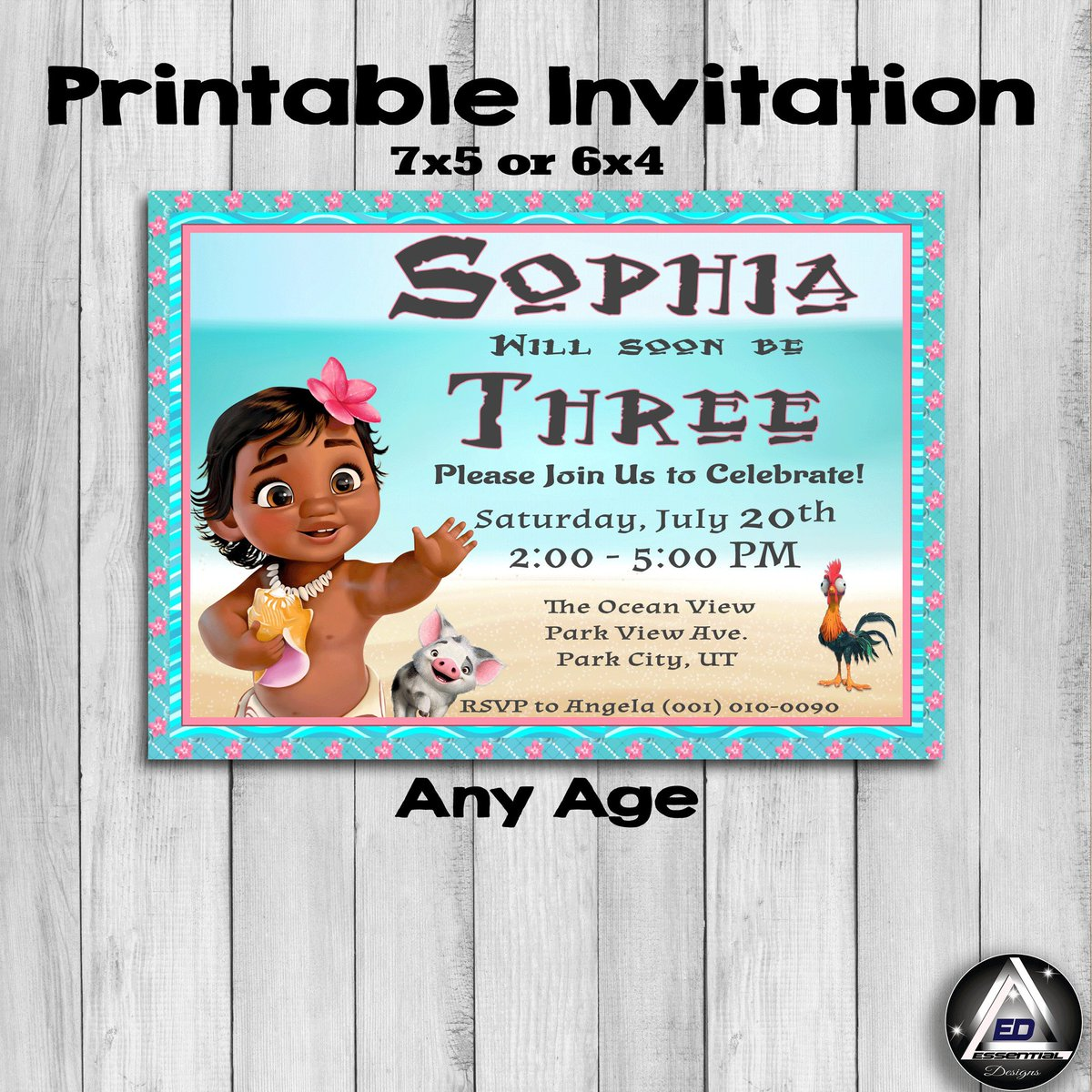 image about Moana Printable Invitations referred to as The Significant Types upon Twitter: \