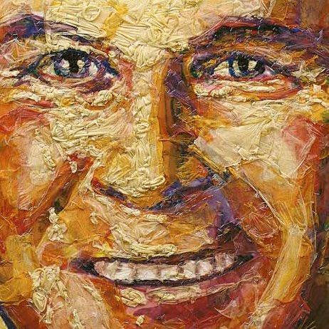 "Presidential Condom Portrait of George W Bush. Mondongo (Argentine collective) ""George (Osama)."" 2008. Condoms on wood panel. #presidentialportrait #GeorgeWBush #condoms<br>http://pic.twitter.com/ac2jEp4fUe"