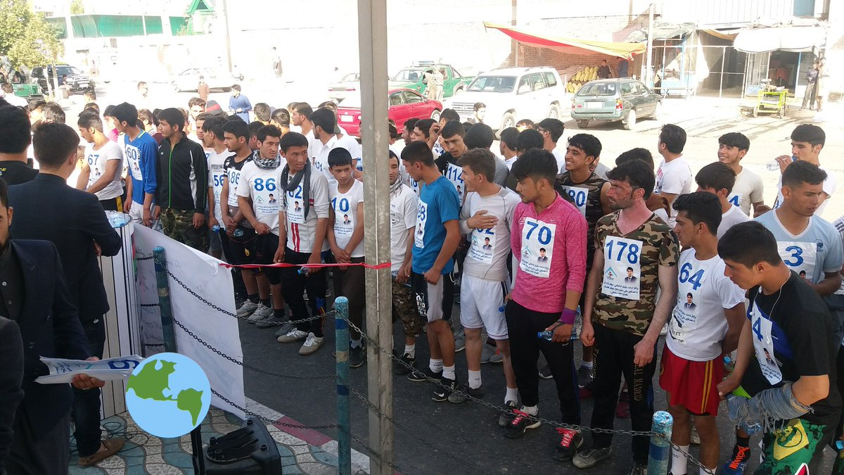 A group of Afghan youths want to run for peace in #Kabul. They want extension of #Ceasefire in #Afghanistan.