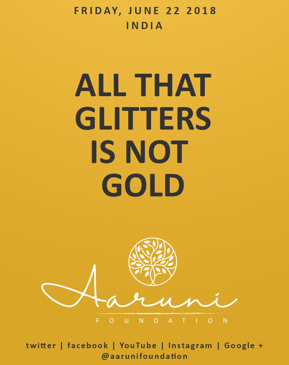 aaruni foundation en quote of the day