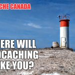 Image for the Tweet beginning: Where will geocaching take you