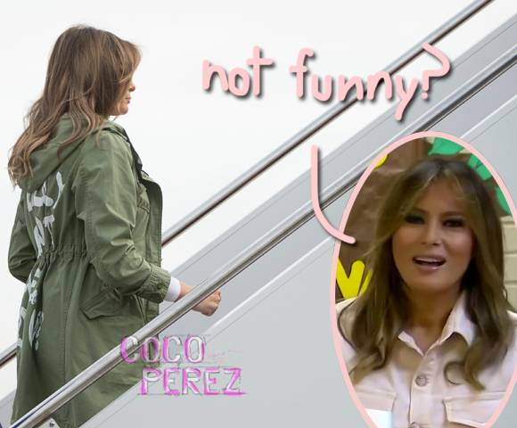 Trump tweeted about the Melania jacket controversy!