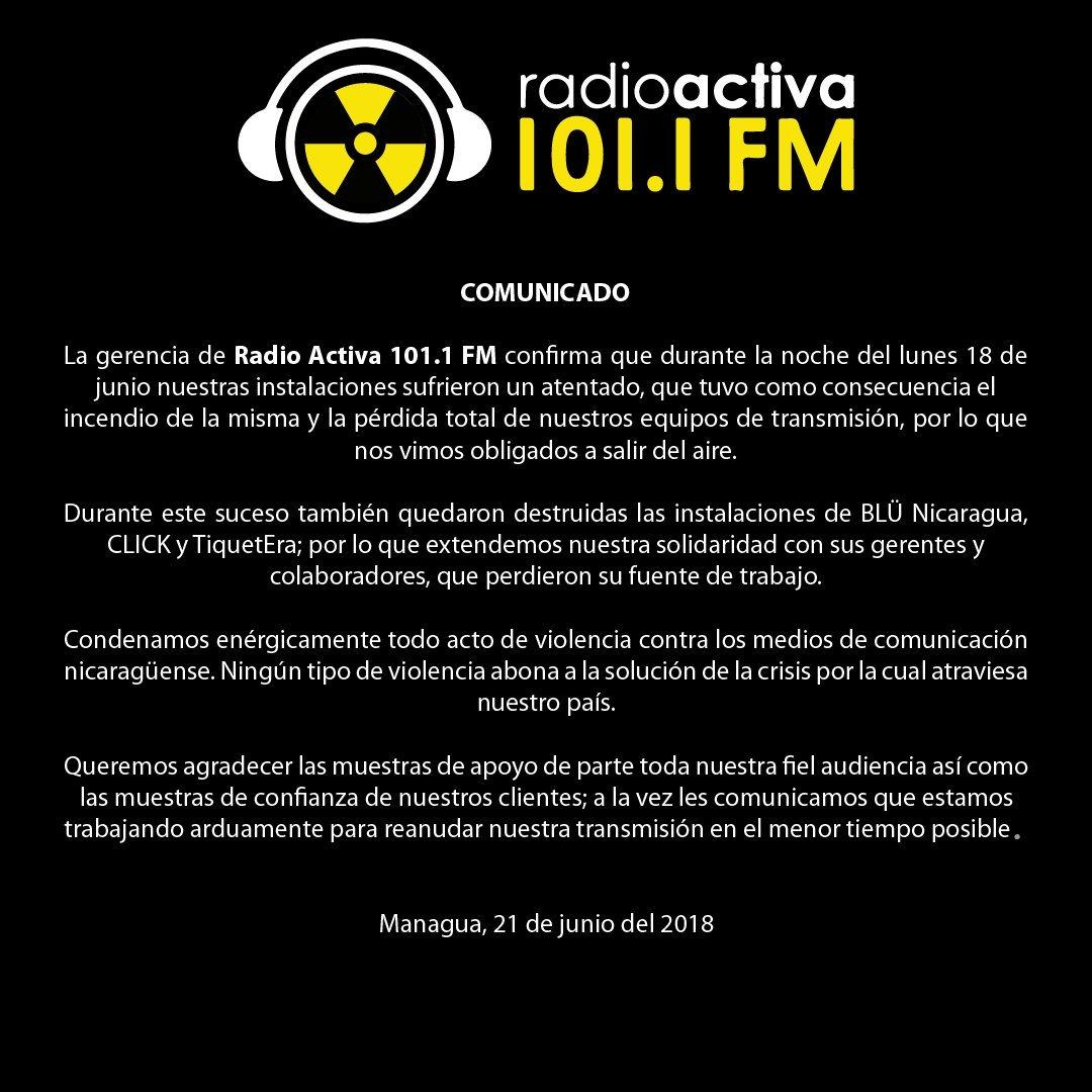 Radio Activa (@RadioActiva1011) | Twitter