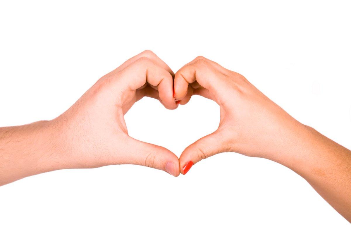 Картинка руки сердцем на фоне