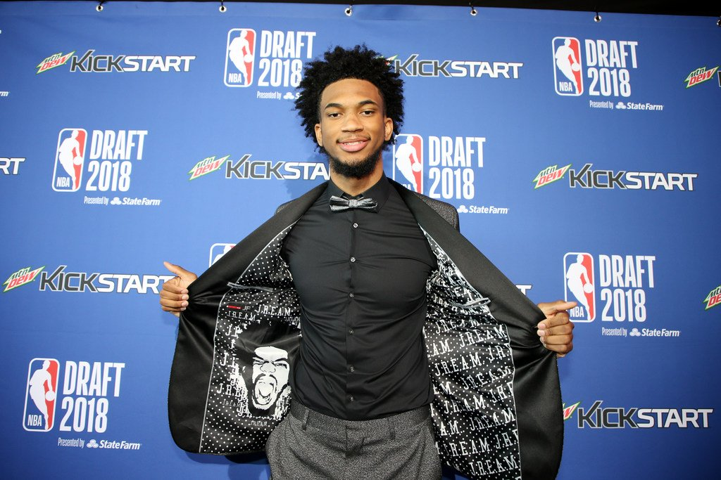 Duke has now had a player drafted in the top 3 in each of the last 5 years. Marvin Bagley III joins Jabari Parker (2014), Jahlil Okafor (2015), Brandon Ingram (2016) and Jayson Tatum (2017).   That's the longest such streak by any school all-time.