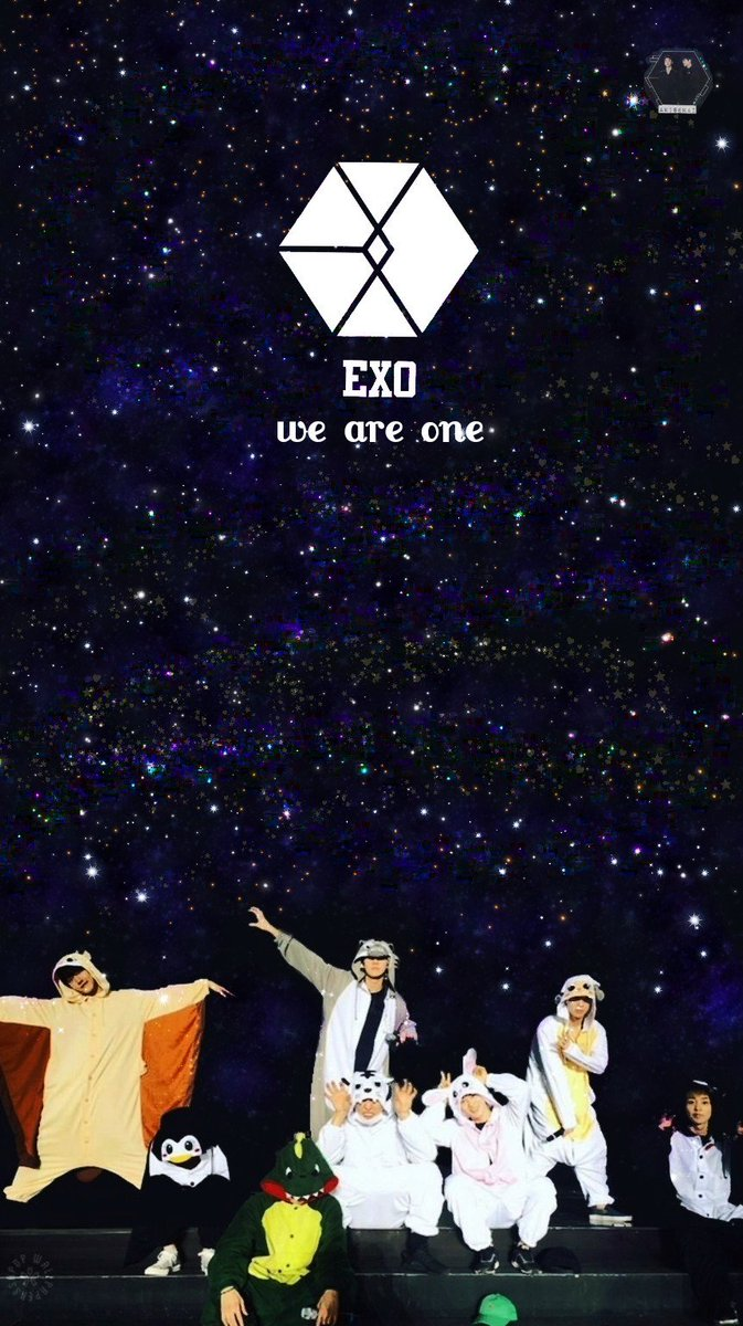 Exo Wallpaper On Twitter We Are One Forever Cr Akisekai Exo
