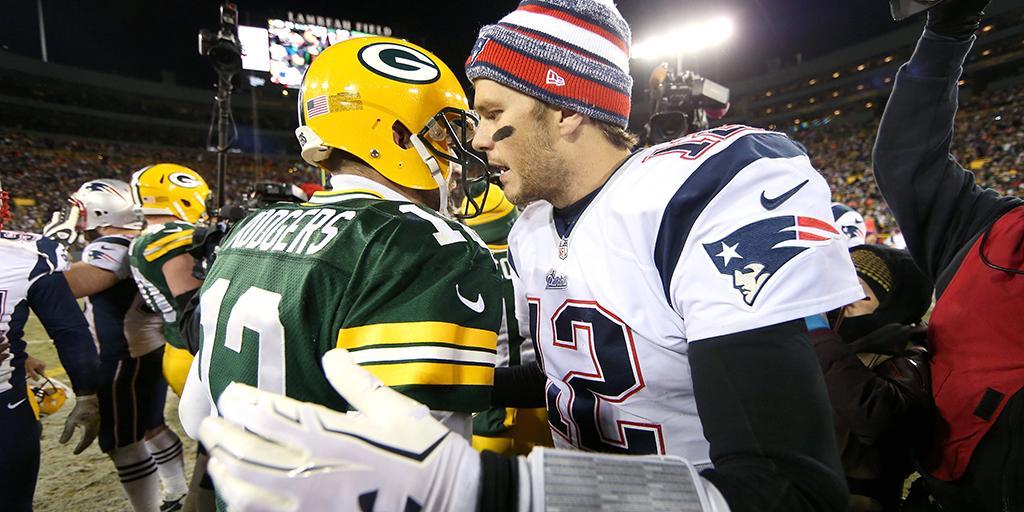 1. @AaronRodgers12 2. Tom Brady 3-10. 👇👇👇  How @AdamSchein would rank the #NFLTop100's Top 10 players: https://t.co/tHjQPCJheo