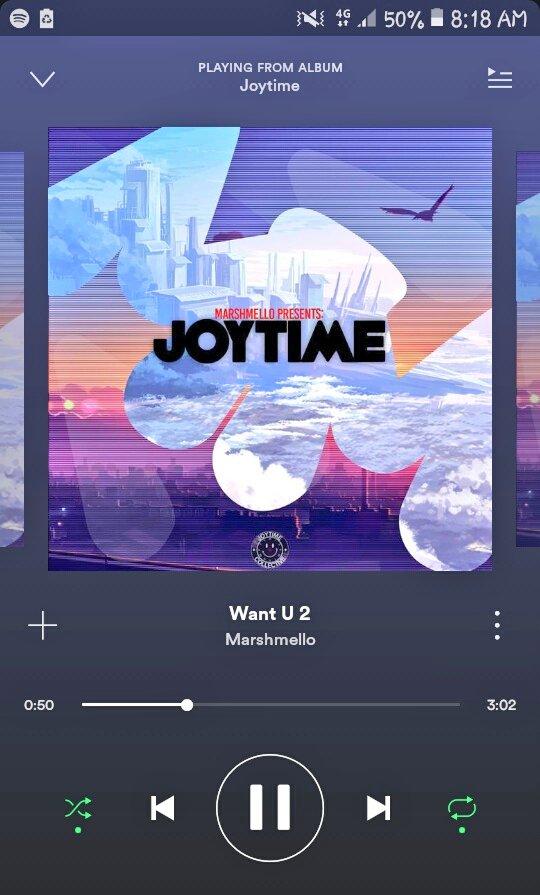 Listening @marshmellomusic ❤ [×_×]