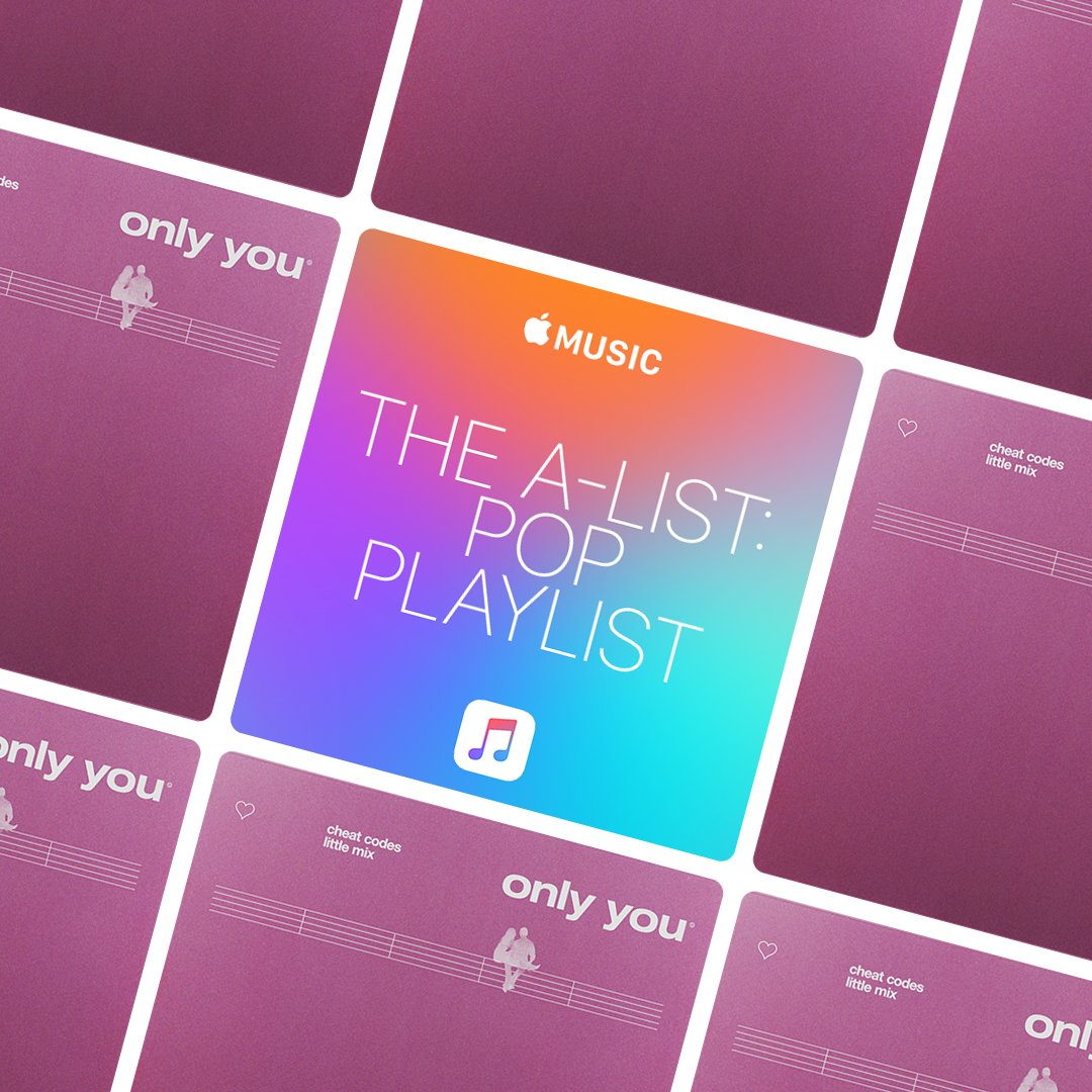 We're listening to #OnlyYou all day today 💃 @AppleMusic https://t.co/xBvEz66f4m
