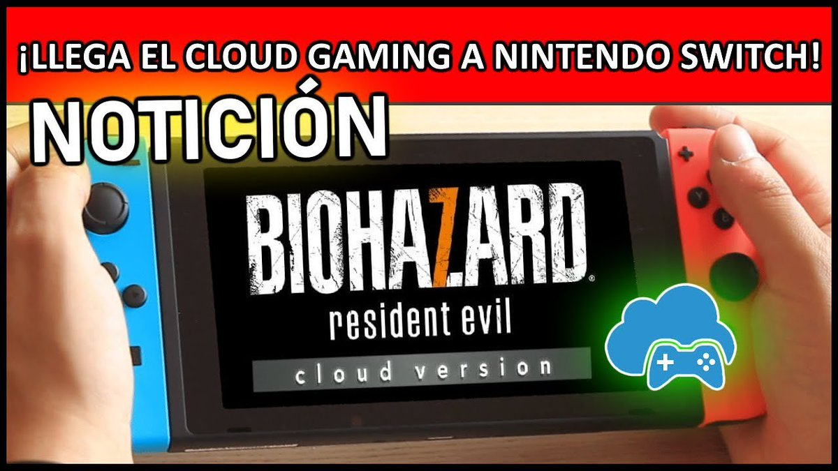 Gamers Kingdom On Twitter Llega El Cloud Gaming A Nintendo