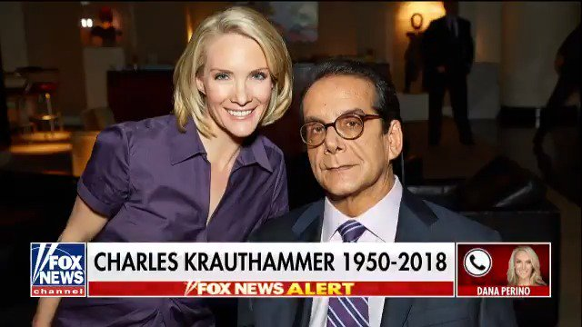 .@DanaPerino remembers longtime Fox News contributor Charles Krauthammer.  https://t.co/aGxpegq8T5 https://t.co/ZdzpOwYwVY