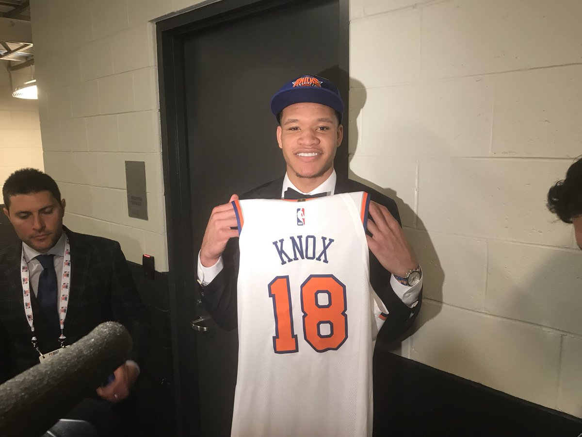 Uk Basketball: Kevin Knox Drafted 9th By The New York Knicks