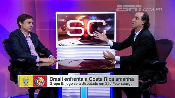 Seleção brasileira: de lado tático ao mental, Meligeni e Tironi analisam próximo desafio do Brasil https://t.co/KJwgFsZwak  #ESPNnaRussia