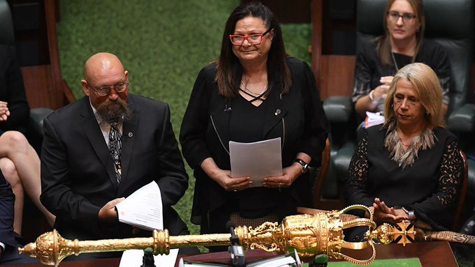 HISTORY MADE: In a historic move, Victorian parliament has passed legislation with the intent to negotiate a treaty with Aboriginal people. (Image: AAP) #TenNews Photo