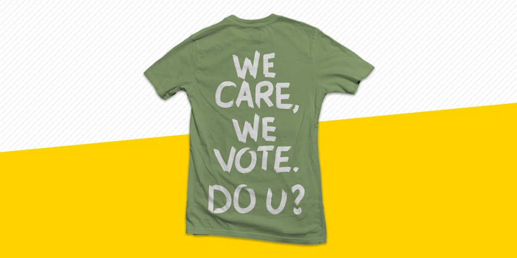 """Theres """"no hidden message"""" here. We like to keep it pretty straightforward. Donate $20.18 to get this shirt, and all proceeds will go toward defeating Trump-supporting Republicans this November. bit.ly/2K8TFya"""